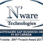 N'ware Technologies ranked 2nd among SAP Business One partners in North America