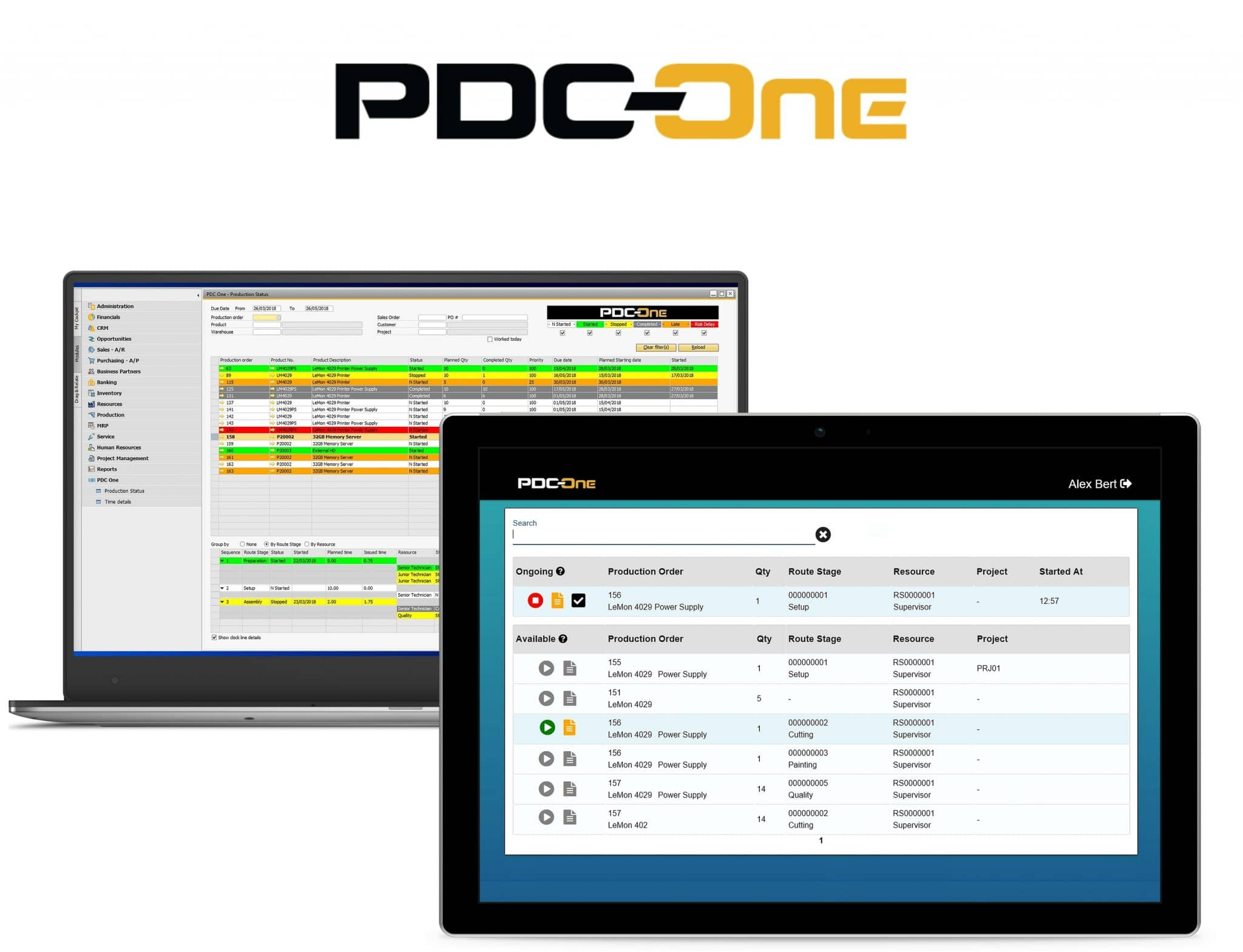PDC-One - One Screens