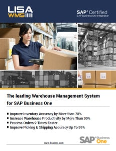 LISA WMS warehouse management system for SAP Business One